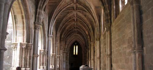 cloisters Evora cathedral